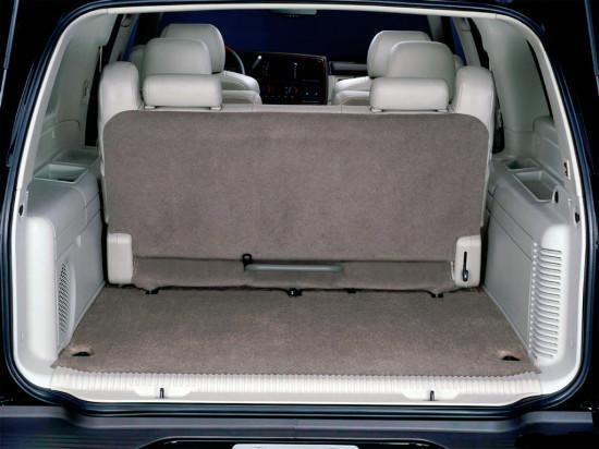 багажное отделение Cadillac Escalade II (GMT 800) 2002-2006
