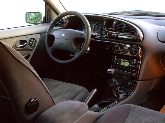 интерьер салона Ford Mondeo Mk II