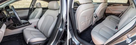 интерьер салона Hyundai Sonata 7
