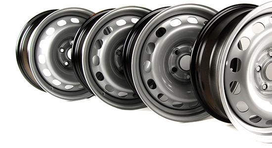 стальные штампованные колёсные диски