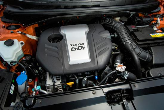 под капотом Hyundai Veloster Turbo