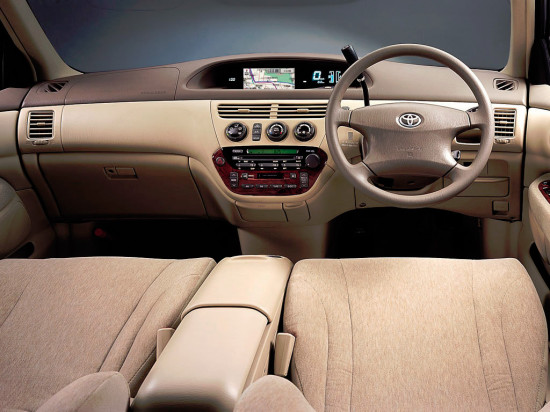 интерьер Toyota Vista V50