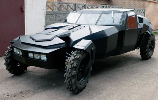 Черный ворон из Казахстана