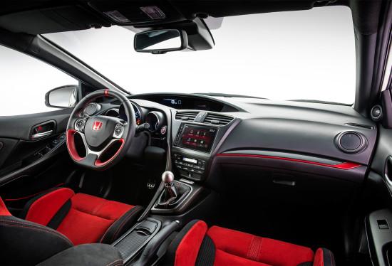 интерьер салона Honda Civic Type R (FK2)