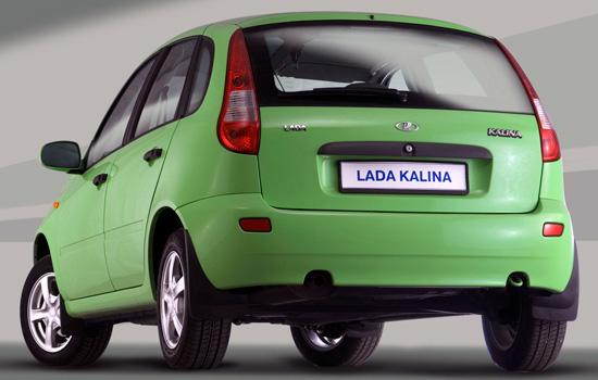 Хэтчбек Lada Kalina 1