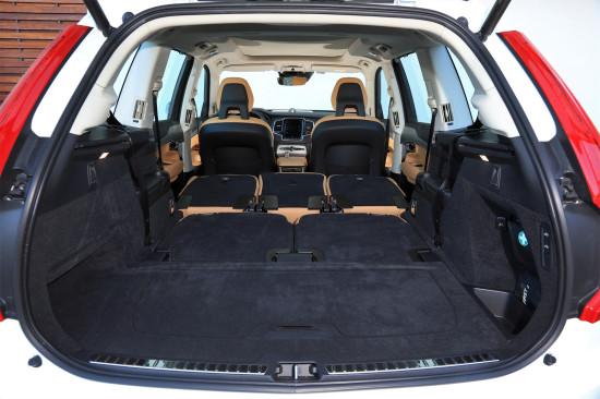 багажное отделение Volvo XC90 T8 Twin Engine