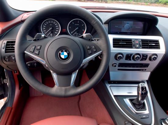 интерьер салона BMW 6-Series (E63/E64)