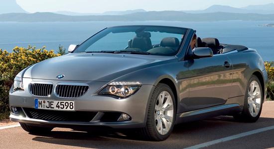 кабриолет BMW 6-Series E64