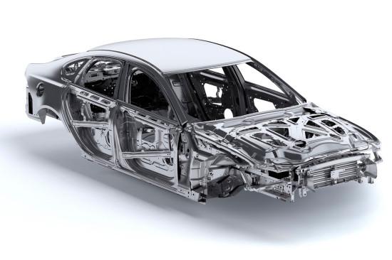 кузов Ягуара XF 2015