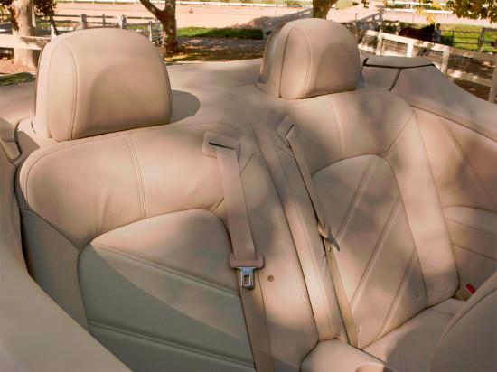 задний диван Nissan Murano CrossCabriolet