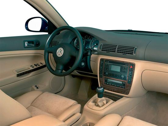 интерьер салона Volkswagen Passat B5 Plus (2000-2005)