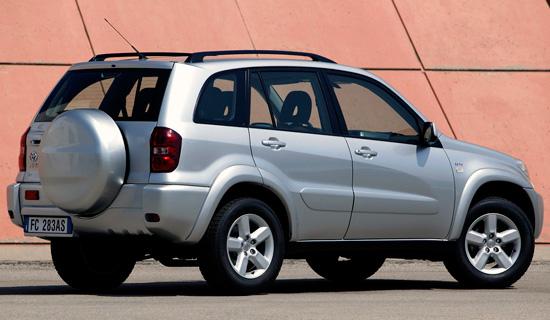 пятидверный Toyota RAV4 (2000-2005)