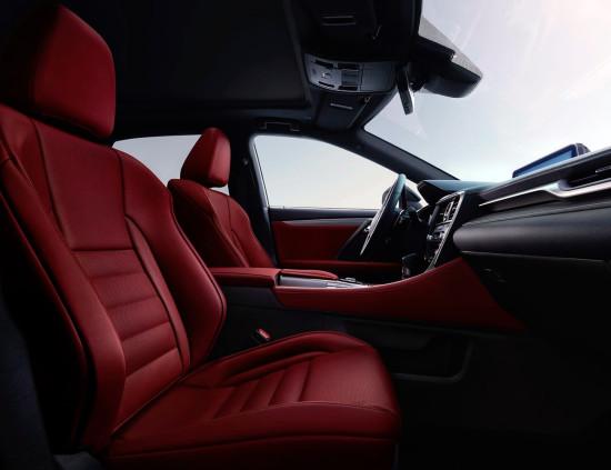 интерьер Lexus RX350 2016