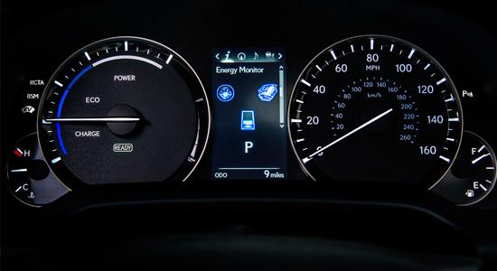 приборы Lexus RX 450h 2016