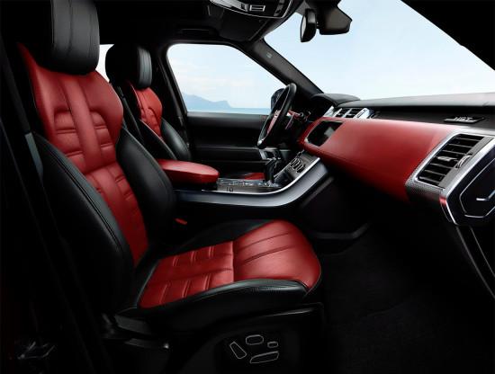 интерьер салона Range Rover Sport HST (L494)