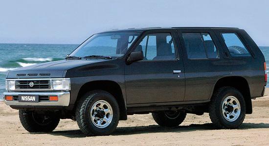 пятидверный Nissan Terrano I