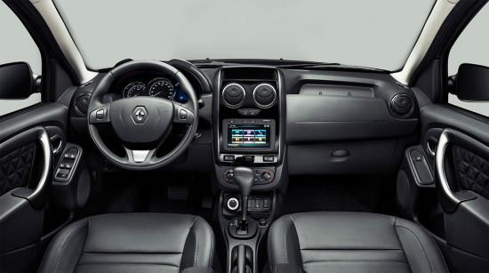 интерьер салона Renault New Duster
