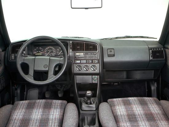 интерьер Volkswagen Passat B3 (1988-1993)