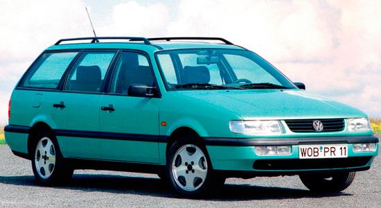 фольксваген пассат универсал б4 1994 -90л.с.-технические характеристики