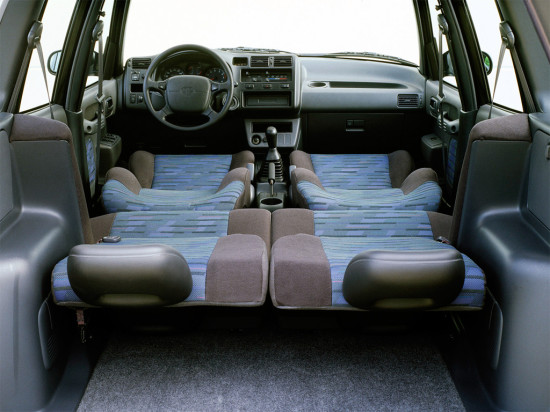 интерьер Toyota RAV4 (1994-2000)
