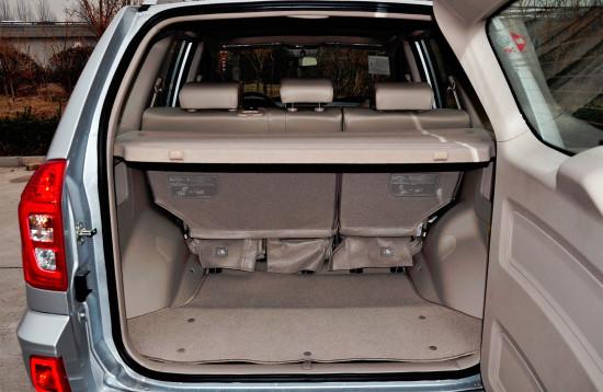 багажное отделение Chery Tiggo 3