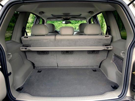 багажное отделение Jeep Cherokee KJ