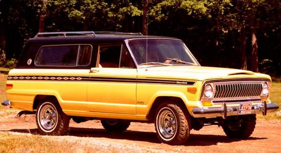 Jeep Cherokee (KK) 1974-1984 на IronHorse.ru ©