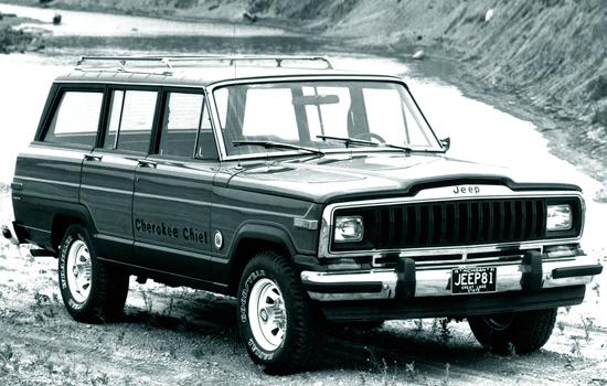 пятидверный Jeep Cherokee 1978 года