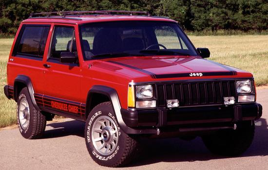 трёхдверный Jeep Cherokee XJ