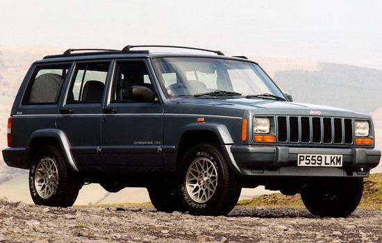 пятидверный Jeep Cherokee XJ
