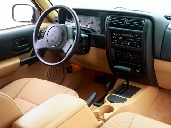 интерьер салона Jeep Cherokee XJ