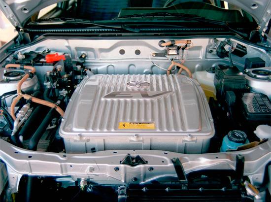 силовая установка Toyota RAV4 EV (XA10)