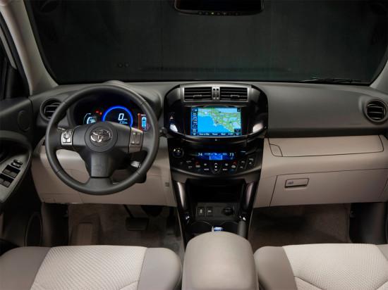 интерьер салона Toyota RAV4 EV (XA30)