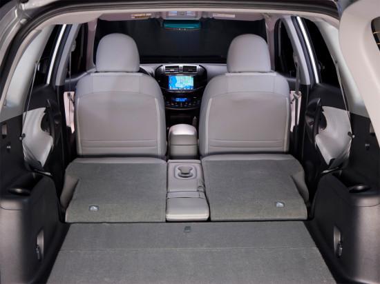 багажное отделение Toyota RAV4 EV (XA30)