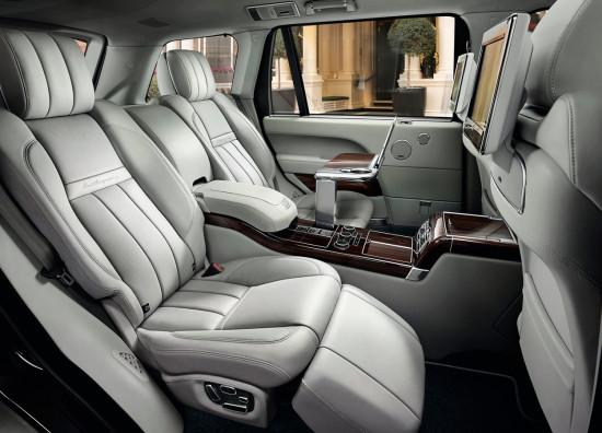 интерьер салона Range Rover LWB  L405 SV Autobiography