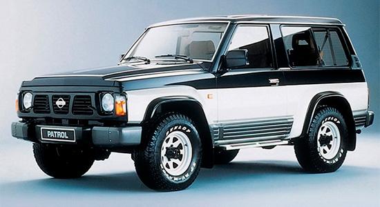 трёхдверный Nissan Patrol Y60