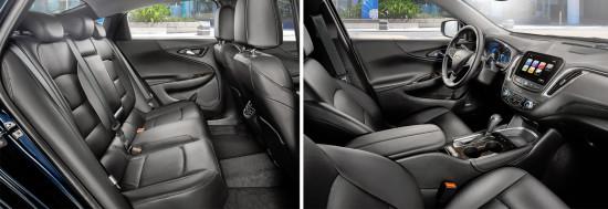 интерьер салона Chevrolet Malibu 9