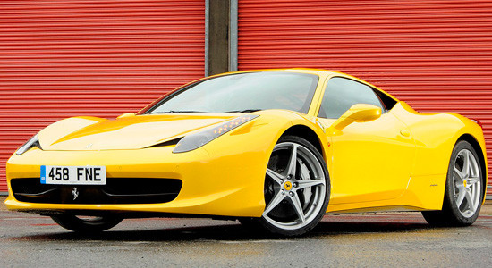 Ferrari 458 Italia на IronHorse.ru ©