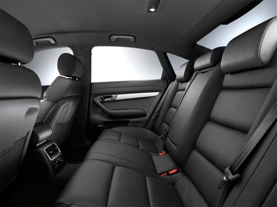 в салоне Audi A6 (C6) 2004-2011