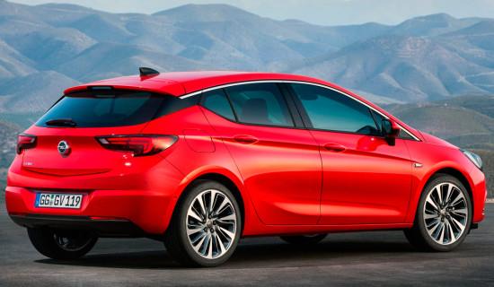 Opel Astra K 2016-2017 года