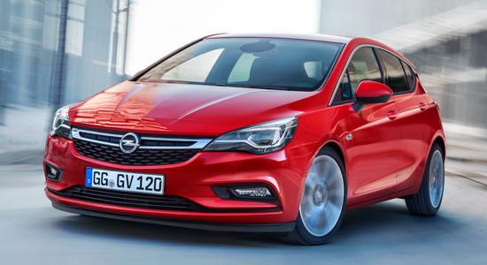 Opel Astra K (хэтчбек) на IronHorse.ru ©