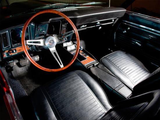 интерьер Chevrolet Camaro (1966-1969)
