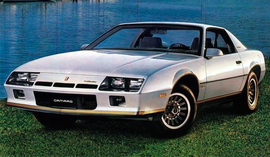 Chevrolet Camaro 3 (1982-1992)