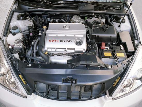 под капотом Lexus ES 4-го поколения