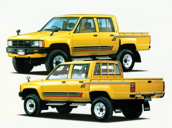 Toyota Hilux 4 Double (1983–1988)