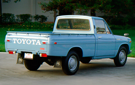 Тойота Хайлюкс (N10) 1968–1972