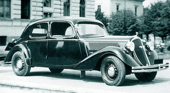 Skoda Rapid 1935