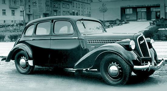 Skoda Rapid (1935–1947) на IronHorse.ru ©