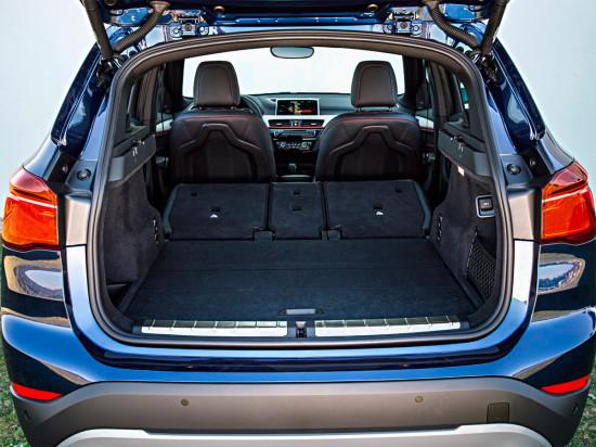 багажное отделение БМВ Х1 2-го поколения