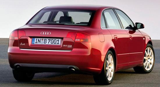 седан Audi A4 (B7) 2004–2008